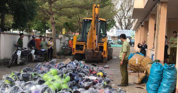Đắk Lắk: Xử lý hơn 3.600 vụ buôn lậu, gian lận thương mại