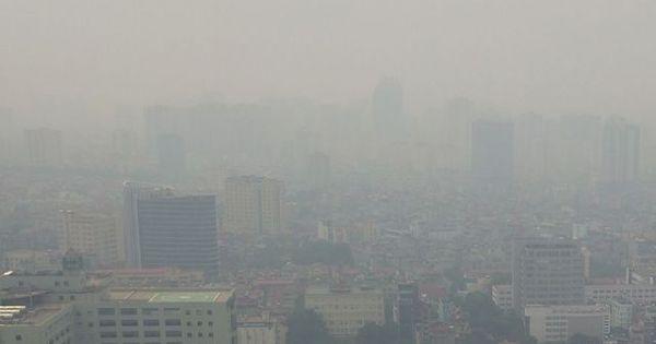Chỉ số bụi mịn ở Hà Nội vượt 3 lần mức cho phép