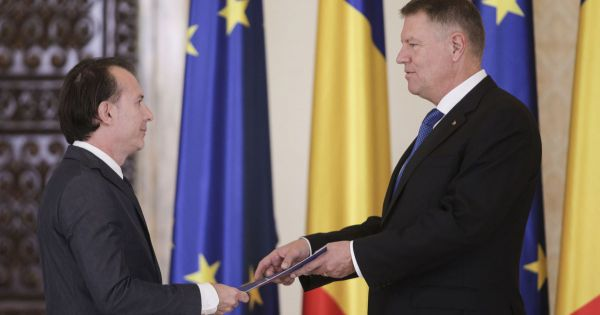 Tổng thống Rumani bổ nhiệm Thủ tướng mới