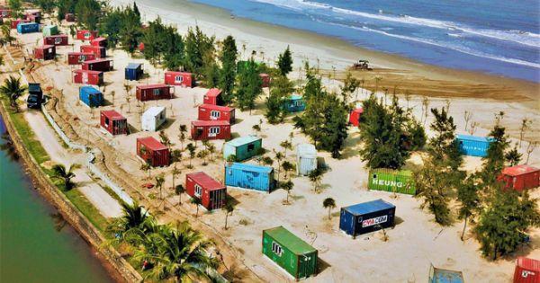 Dự án container ở rừng phòng hộ bị xử phạt hành chính 35 triệu đồng vì xây dựng sai phép.