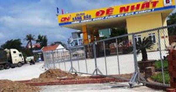 Bình Định: Doanh nghiệp xây cửa hàng xăng dầu sai phép bị phạt 40 triệu đồng