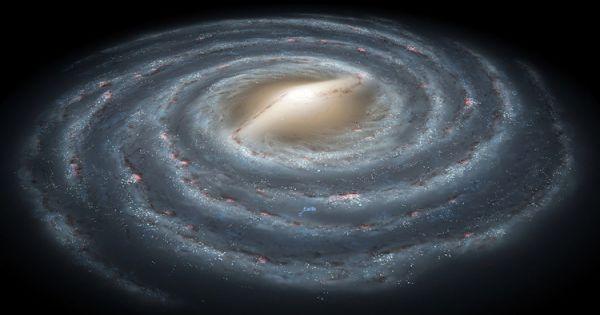 Dải Ngân Hà có thể rộng 1,9 triệu năm ánh sáng
