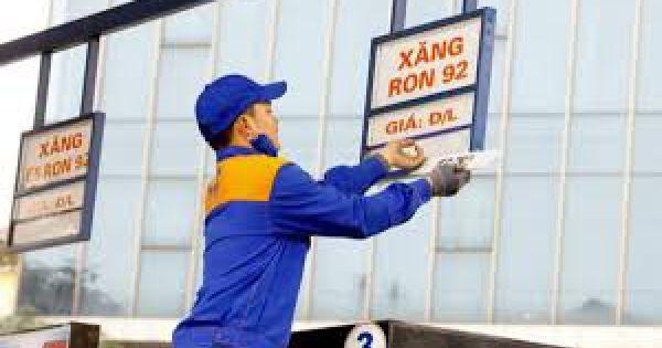 Giá xăng giảm xuống dưới 12.000 đồng/lít vào hôm nay?