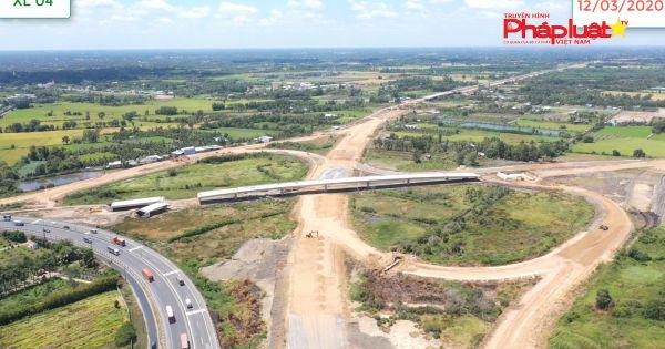 Không để dịch COVID - 19 làm ảnh hưởng đến tiến độ và chất lượng công trình Cao tốc Trung Lương - Mỹ Thuận