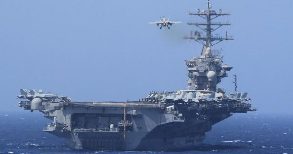 Mỹ xác nhận hàng không mẫu hạm thứ 4 nhiễm Covid-19