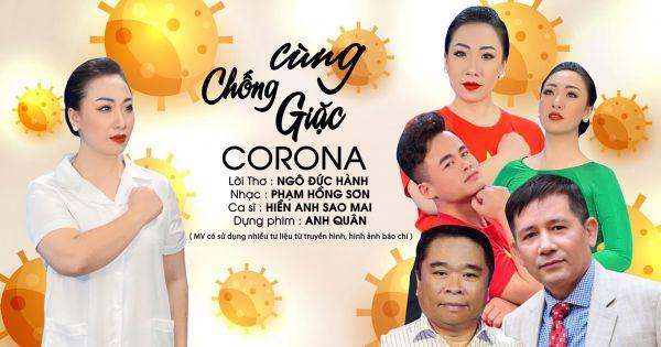 "Sao mai Hiền Anh ""cùng chống giặc Corona"""
