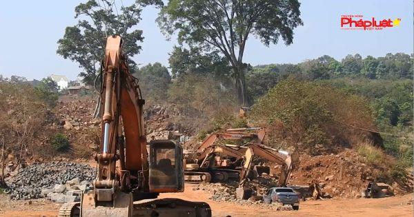 Đắk Nông: Lợi dụng giấy phép khai thác đá xây dựng đi khai thác đá mỹ nghệ