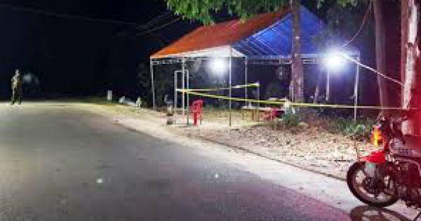 Khởi tố kẻ tấn công cán bộ công an kiểm dịch COVID-19 ở Thái Bình