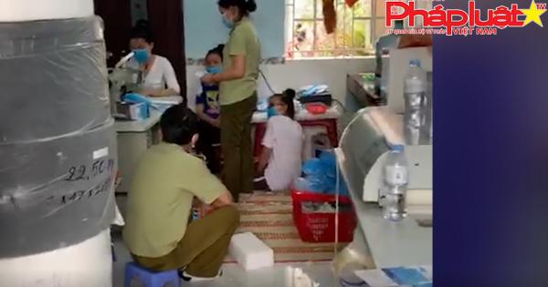 TP. Hồ Chí Minh: phát hiện cơ sở sản xuất khẩu trang giả mạo tên thương nhân, địa chỉ