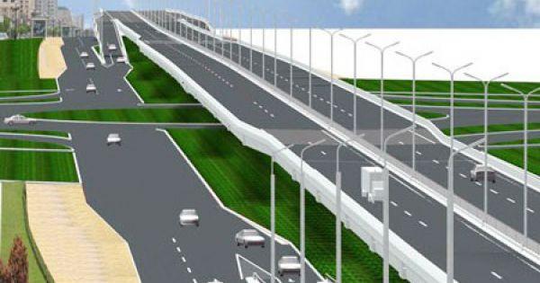 Đường trên cao Mai Dịch - cầu Thăng Long: Vỡ tiến độ, chậm dỡ hàng rào