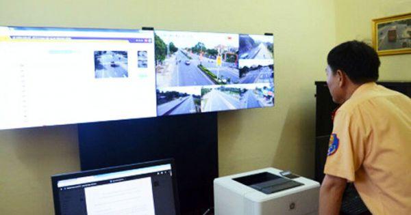 CSGT toàn quốc tiếp nhận clip, hình ảnh vi phạm giao thông để xử lý