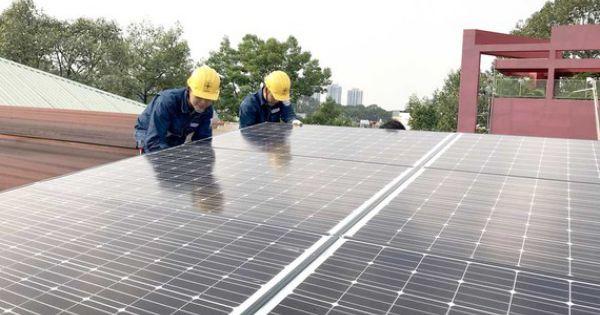 Phát triển điện mặt trời tại TPHCM