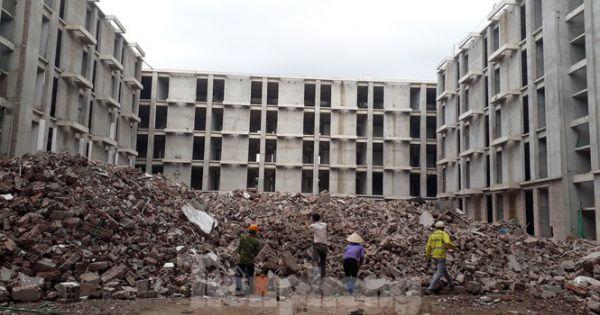 """Bắc Giang tháo dỡ công trình vi phạm """"khủng"""" của doanh nghiệp Trung Quốc"""
