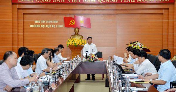 Bộ Giáo dục - Đào tạo: Chủ tịch tỉnh Quảng Ninh kiêm hiệu trưởng Trường Đại học là giải pháp tình thế trước mắt