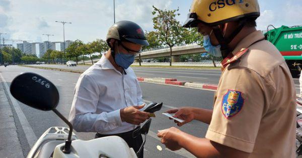 CSGT TPHCM xử phạt hơn 5,7 tỉ đồng sau 10 ngày tổng kiểm soát phương tiện