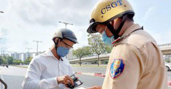Kiểm tra kéo giảm tai nạn giao thông
