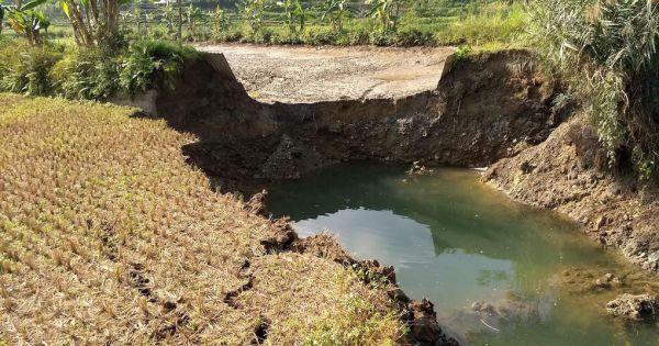 Hút nước ngầm tạo ra 148 'hố tử thần' ở Bắc Kạn