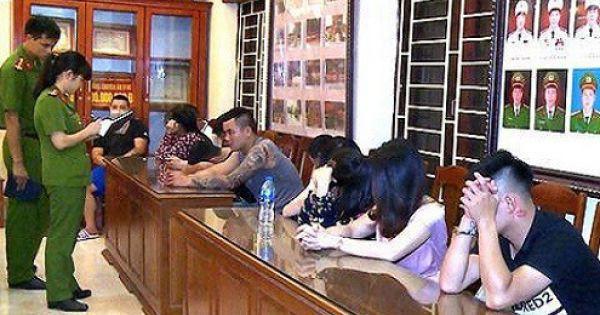Thượng úy CSGT dự tiệc ma túy bị khởi tố