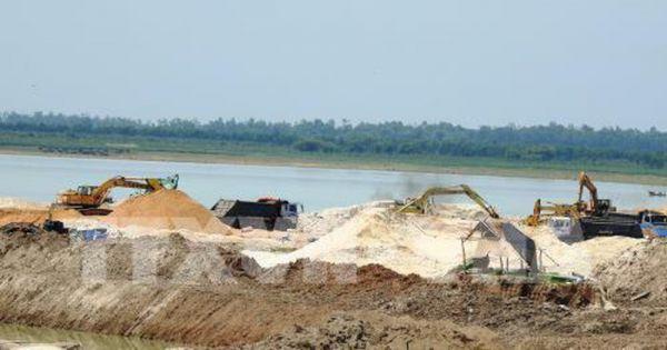 Giảm 30% công suất và thời gian khai thác cát trong hồ Dầu Tiếng