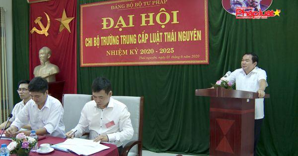 to-chuc-thanh-cong-dai-hoi-chi-bo-truong-trung-cap-luat-thai-nguyen-nhiem-ky-2020-2025