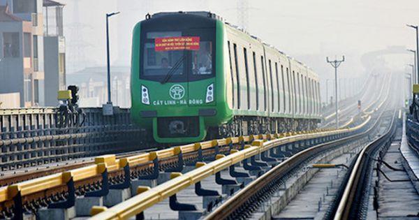Tổng thầu đường sắt Cát Linh - Hà Đông đòi thêm hơn 1.100 tỉ vận hành hệ thống