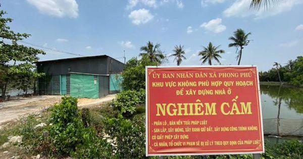 TPHCM: Chuẩn bị cưỡng chế công trình không phép tại KCN Phong Phú
