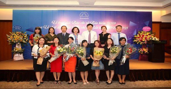 Báo Pháp Luật Việt Nam nhận giải thưởng Giải Báo chí về Bảo hiểm 2019
