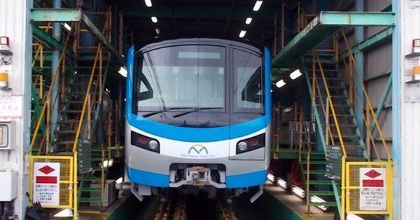 Đoàn tàu đầu tiên của metro Bến Thành - Suối Tiên sẽ về Việt Nam trong năm nay