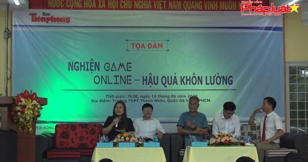"""""""Nghiện game online – Hậu quả khôn lường"""""""