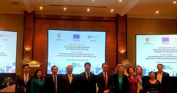 Diễn đàn pháp luật nâng cao hiệu quả hoạt động hòa giải cơ sở tại Việt Nam
