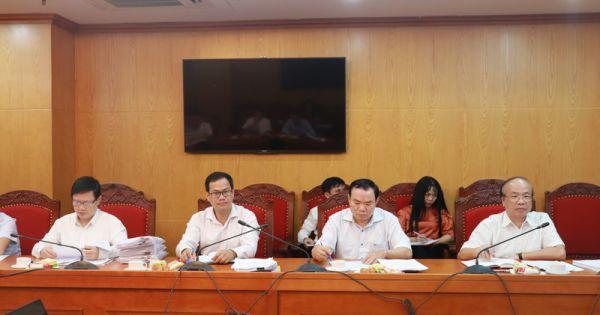 Công tác chuẩn bị Đại hội đại biểu Đảng bộ Bộ Tư pháp lần thứ XI, nhiệm kỳ 2020-2025