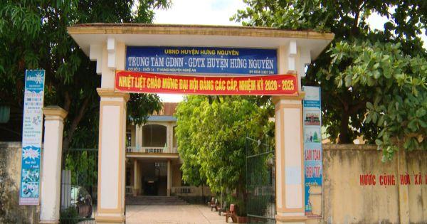 Nghệ An: Chủ tịch UBND huyện Hưng Nguyên liên tục bị khiếu nại về các quyết định kỷ luật, thanh tra trung tâm GDNN - GDTX