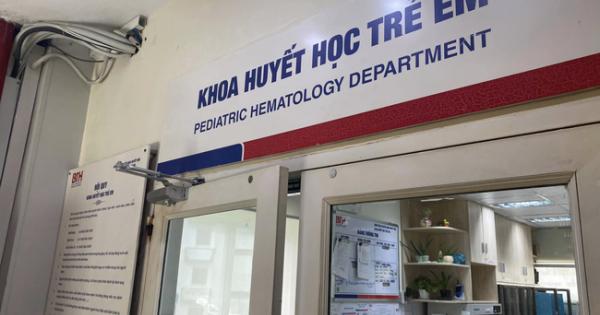 Chuyển công an vụ bệnh nhi bị truyền thuốc hết hạn ở BV Truyền máu Huyết học