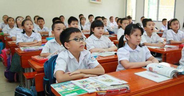 Từ 1/7 học sinh tiểu học được miễn học phí