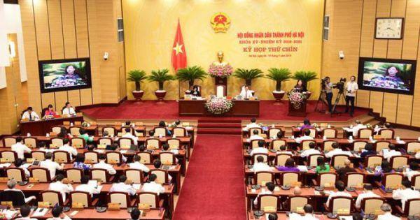 HĐND Hà Nội không tổ chức chất vấn và trả lời chất vấn trực tiếp