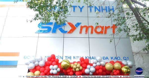 Khai Trương Hệ Thống Bán Lẻ Skymart 100% Vốn Việt Nam