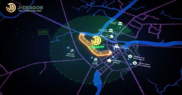 Khu đô thị thương mại J-Dragon thu hút nhiều nhà đầu tư