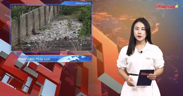 Việt Trì - Rác thải chất đống cao như núi tại xã Phượng Lâu