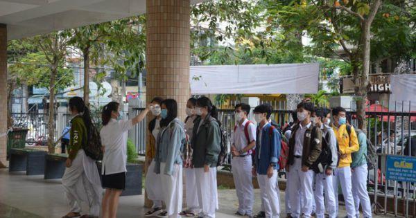 Bộ GD&ĐT quyết định lùi thời gian thi THPT với thí sinh Đà Nẵng, Quảng Nam
