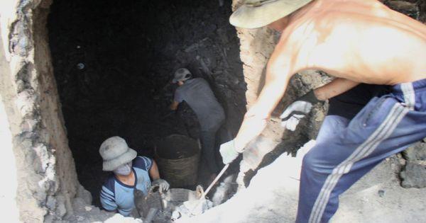Nổ mìn khai thác than tại Núi Béo-Quảng Ninh, 1 công nhân tử vong