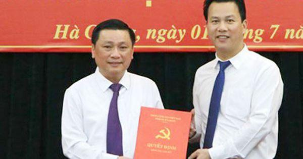 Miễn nhiệm chức vụ Phó Chủ tịch tỉnh Hà Giang với ông Nguyễn Minh Tiến