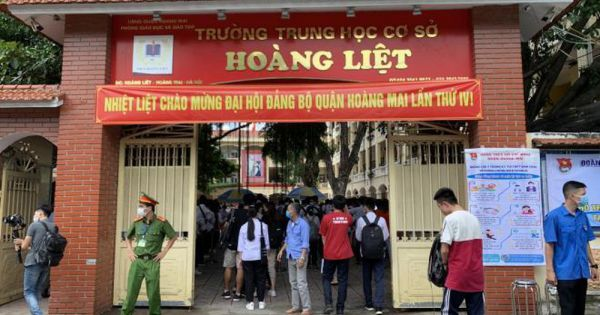 Hà Nội: Yêu cầu nhà dân sát điểm thi tốt nghiệp THPT đóng cửa, hạn chế tụ tập