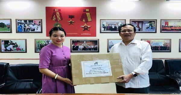 Hội đồng hương Đà Nẵng tại Hà Nội quyên góp ủng hộ quê nhà sớm vượt qua đại dịch