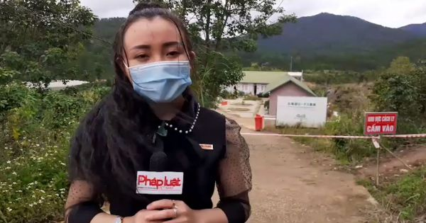 Lâm Đồng: Khu vực cách ly tại trụ sở công ty Hokaido