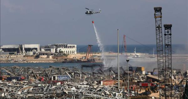 Quốc tế cam kết hỗ trợ khẩn cấp 250 triệu euro cho Liban