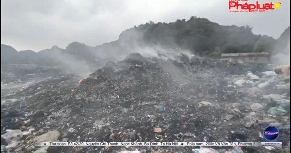 Yên Thủy - Hòa Bình: Hơn 10 năm người dân khốn khổ vì sống cạnh bãi rác