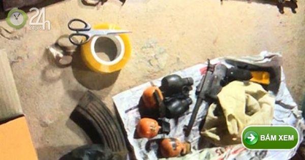 TP Vinh: Triệt phá 3 chuyên án ma túy trong 1 ngày, thu giữ nhiều vũ khí 'nóng'