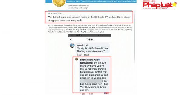 Vợ cũ Huy Khánh tự nhận là người liên quan sáng lập bệnh viện FV, TGĐ FV quyết liệt phản bác