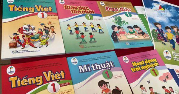 Lập 1 hội đồng chọn Sách giáo khoa tại mỗi tỉnh