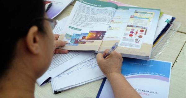Tiến hành thẩm định sách giáo khoa lớp 6